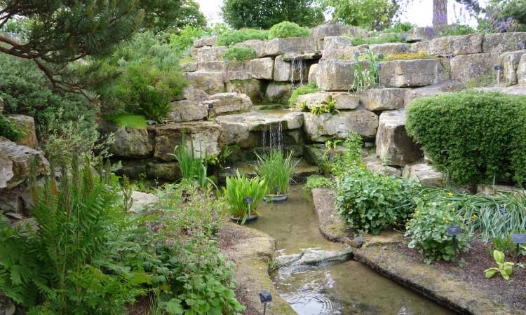 Rockgarden i Kew garden