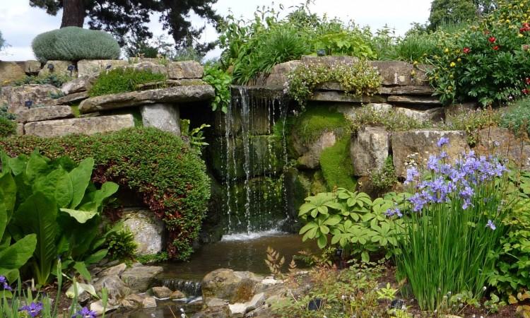 Vattenfall i Rockgarden