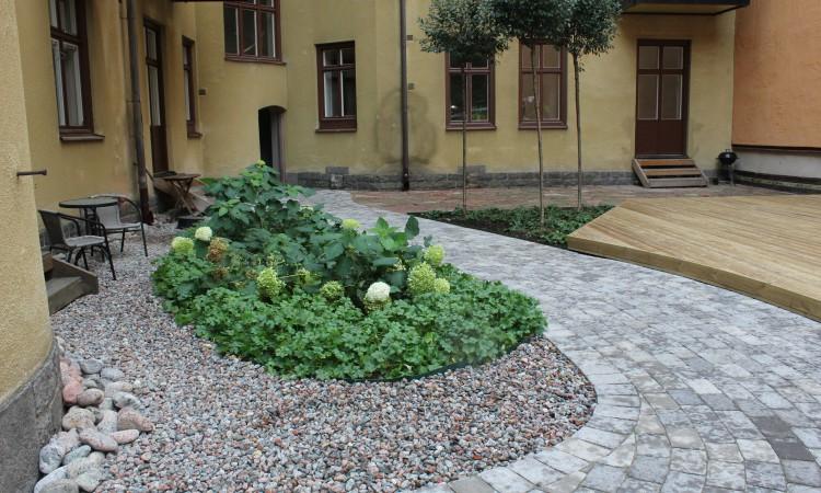 trädgårdsaplanering